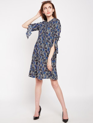 Paisley prints a line dress - 16269711 - Standard Image - 4