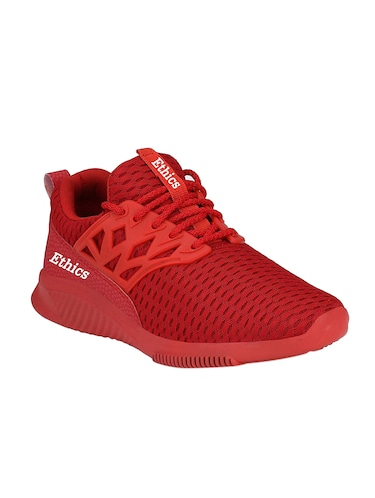red mesh sport shoes - 16275786 - Standard Image - 1
