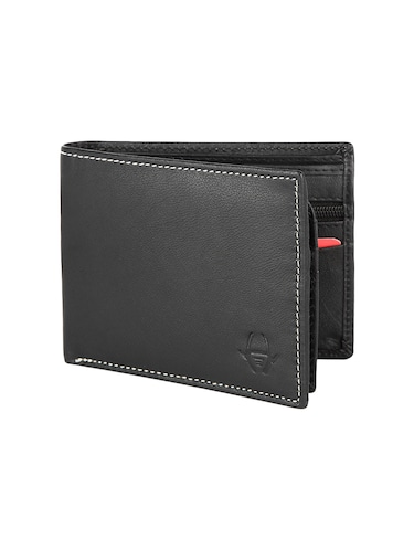 black leather wallet - 16293647 - Standard Image - 1