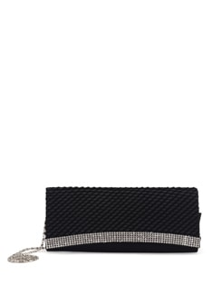 Black And Silver Sling Bag - Addons