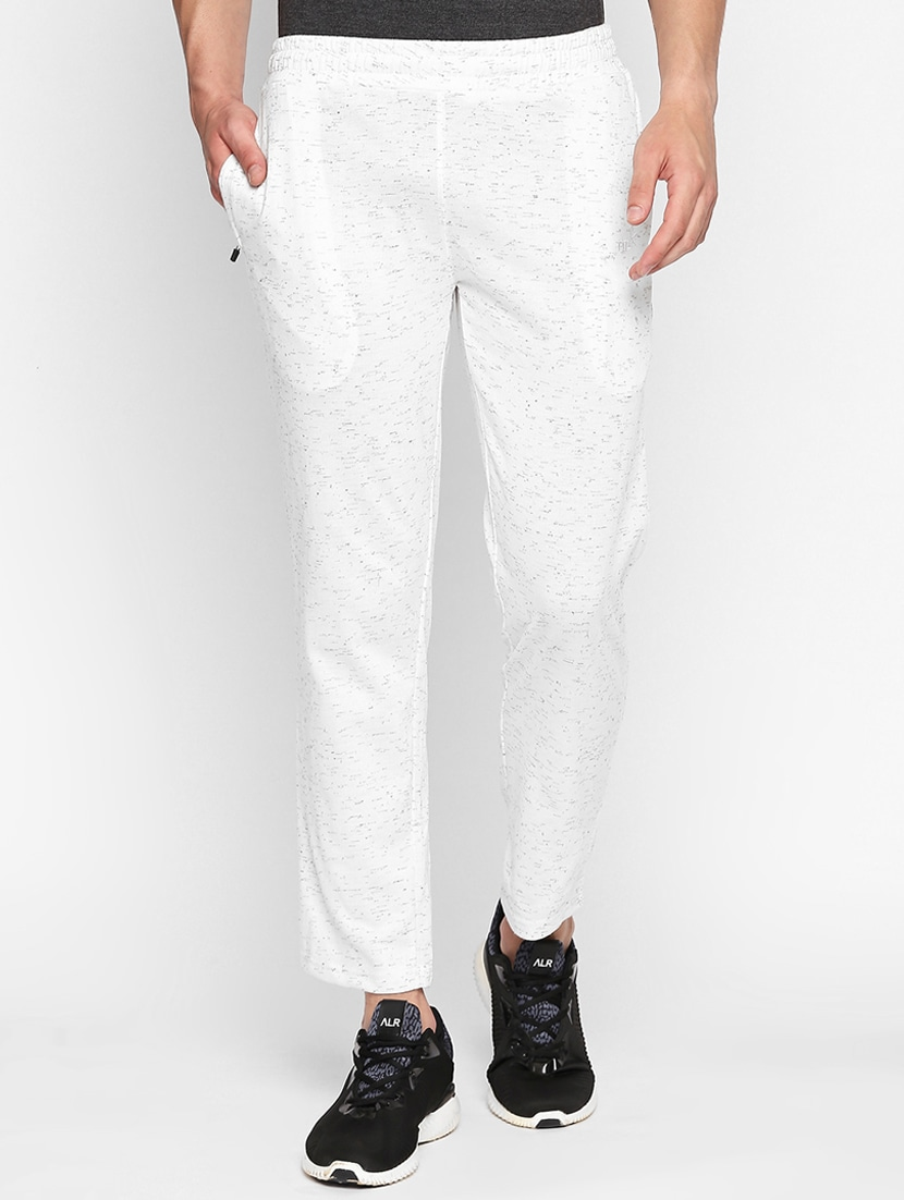60% cheap coupon code hot-selling white cotton full length track pant