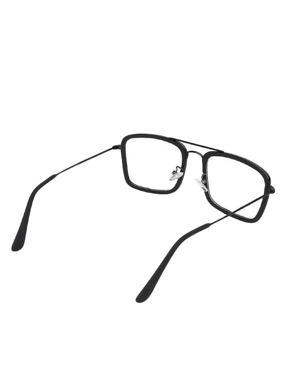 c48bacf3 Lee Topper Transparent UV Protection Sunglasses Frame for Mens and Womens  (Clear)