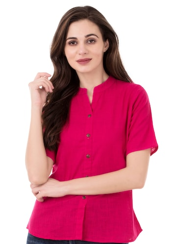 671456a8 Shirts For Women - Upto 70% Off | Buy Denim, Formal & Casual Shirts for  Women at Limeroad