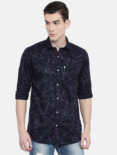 a30174ce2638 Light Blue Cotton Casual Shirt
