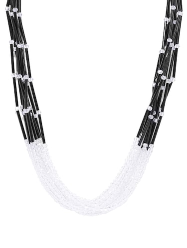 Buy mia by tanishq white necklace and chains diamond in