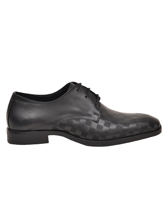 arrow black formal shoes