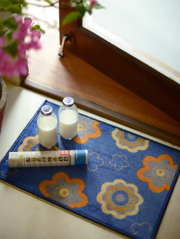 Floral Print Home Deco Mat - Freelance