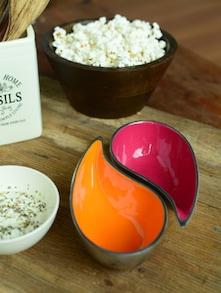 Tear Drop Bowls - Pink And Orange - Cultural Concepts