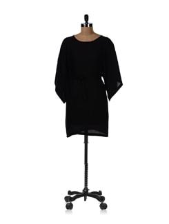 Black Kaftan Dress - Femella