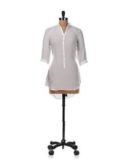 White Shirt Tunic - Femella