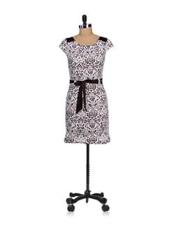 Breezy Off-white & Brown Floral Dress - SPECIES