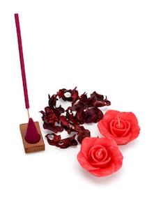 Fragrance Gift- Set Of 5 (Rose) - IRIS Home Fragrances