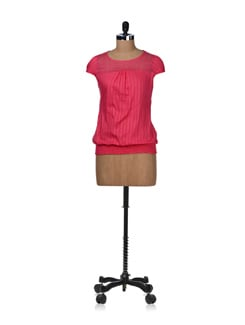 Lacey Pink Top - STYLE QUOTIENT BY NOI