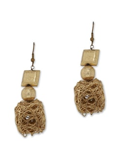 Wired Cube Earring - Avni Gujral