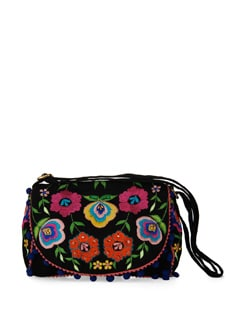 Embroidered Sling Bag - Shaun Design
