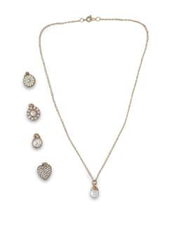 Five Pendant Necklace - THE PARI