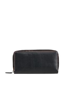 Black Leather Wallet - ADAMIS