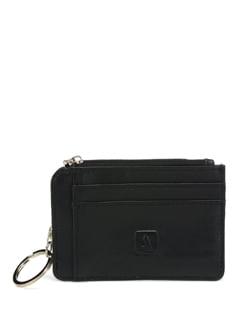Black Card Holder And Wallet - ADAMIS