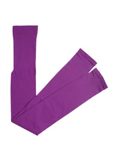 Bright Purple Ankle Length Tights - Miss Chase