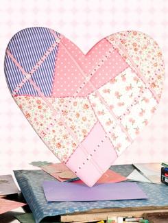 Fabric Pin Board - TREASURE  HUNT