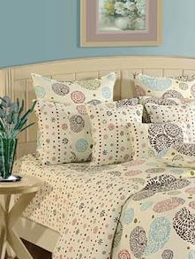 Floral Print & Pattern Bed Linen Set - SWAYAM