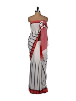 Rustic Charm-cotton Saree - Story Of Weaves