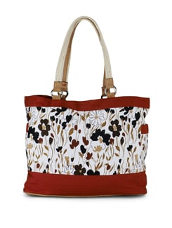 Multicoloured Jungle Print Tote Bag - SUNNY ACCESSORY