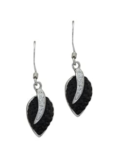 Sparkling Silver Earrings With Stones - Sparkling Deals
