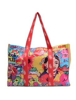 Quirky Printed Handbag - The House Of Tara