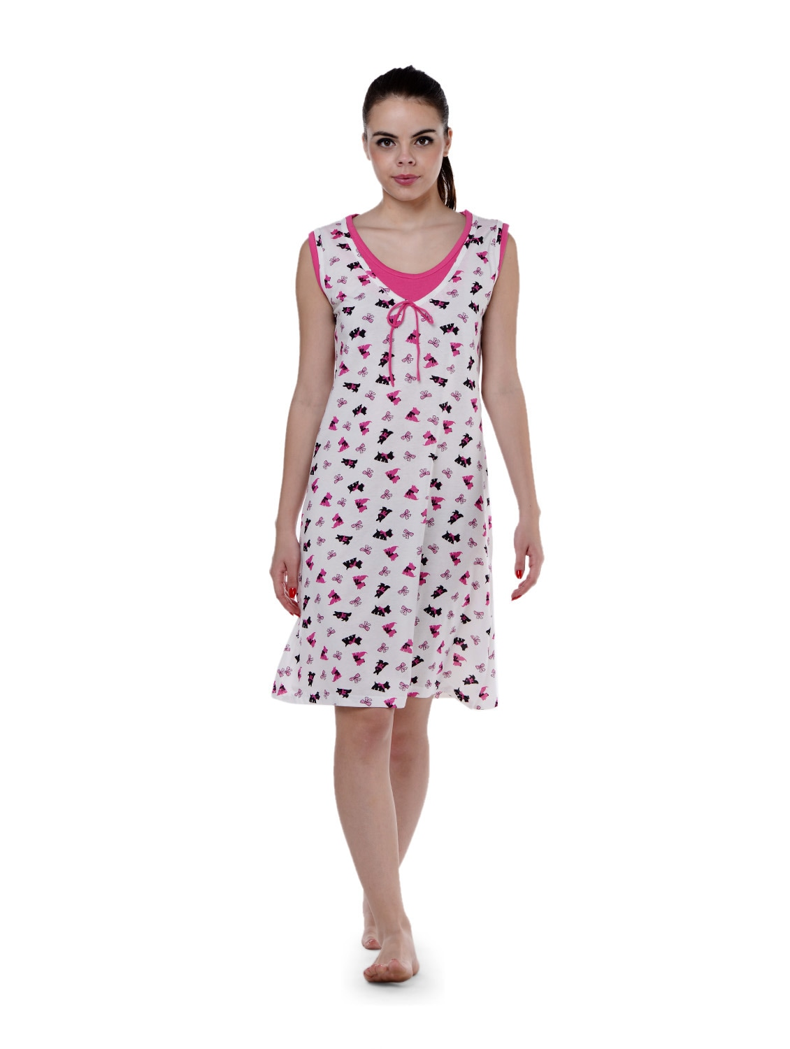 64883c7237a Buy Puppy Print Short Nighty for Women from Privatelives for ₹899 at 0% off