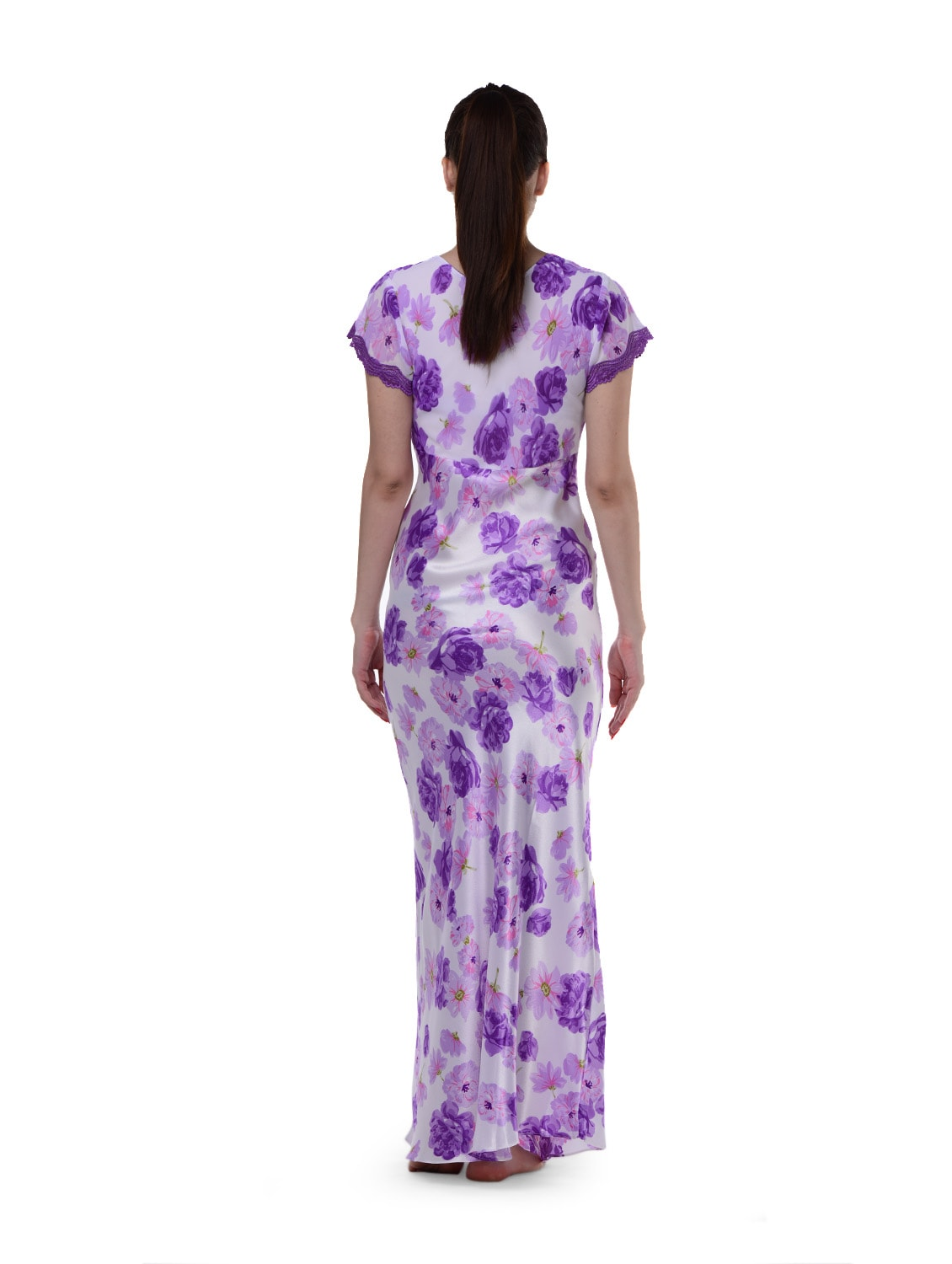 dd87e54deef Buy Lavender Long Nighty for Women from Privatelives for ₹999 at 0% off