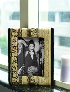 Chic Jewelled Photo Frame - ALESSIA