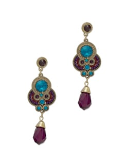 Fancy Multicoloured Earrings - THE PARI