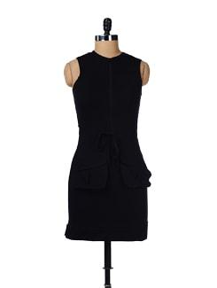 Black Sporty Dress - GRITSTONES