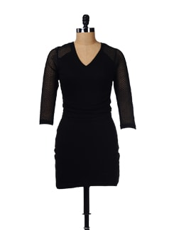 Black Lace Dress - GRITSTONES