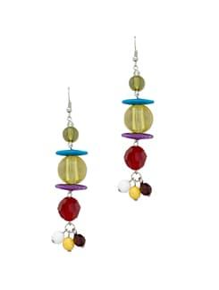Colour Block Earring - Blend Fashion Accessories