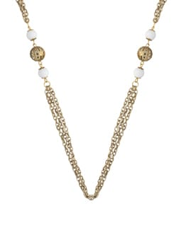 Simple Chained Necklace - Blend Fashion Accessories