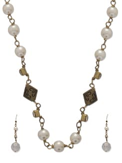 Delicate Gold Chain Necklace - Ivory Tag