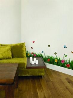 Grassy Wall Sticker - Home Decor Line
