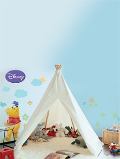 Pooh & Friends Wall Sticker - Decofun