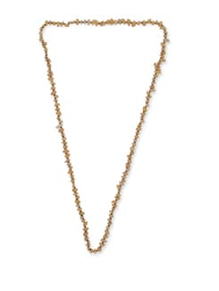 Trendy Yellow Long Necklace - Ivory Tag