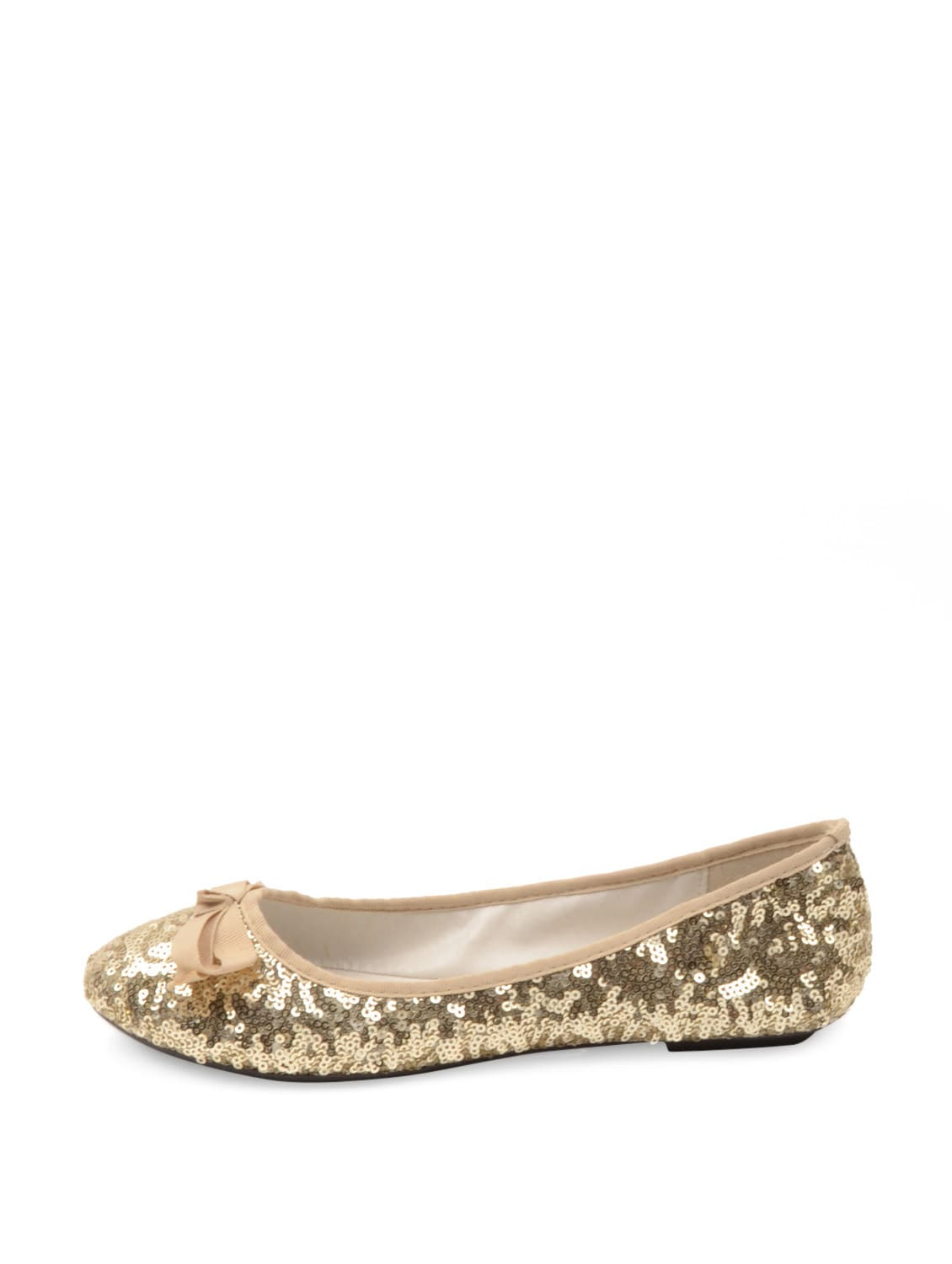 c1503fe88b35 Buy Glitter Gold Ballet Flats for Women from Carlton London for ₹1995 at 0%  off