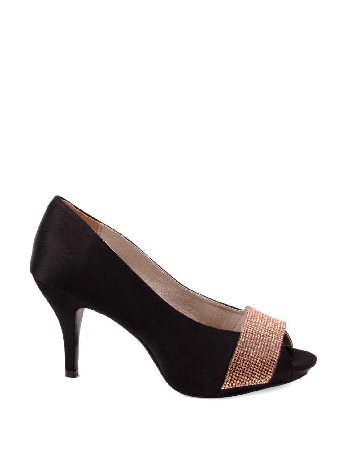 63b9c54bb8 Buy Elegant Black Peep Toes for Women from Carlton London for ₹3495 at 0%  off | 2019 Limeroad.com
