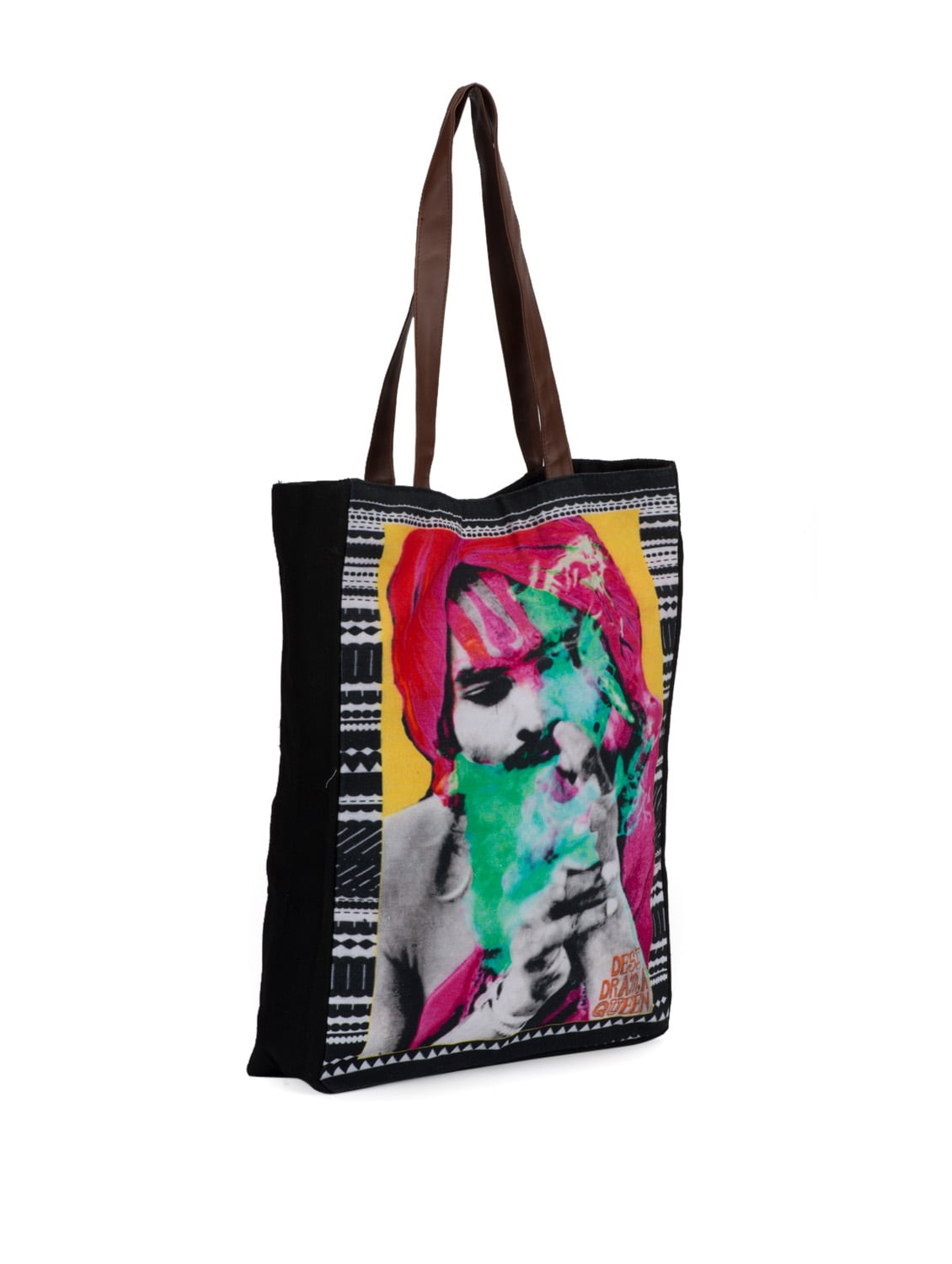 Buy Funky Canvas Bag by Desi Drama Queen - Online shopping for ... f788bd7adf
