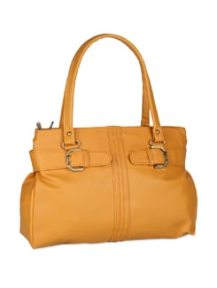 Chic Camel Tan Bag - ALESSIA
