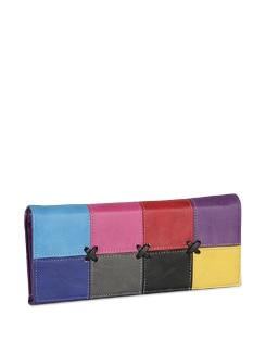 Funky Purple Wallet - ALESSIA