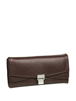 Chocolaty Brown Wallet - ALESSIA