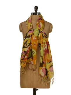 Abstract Print Scarf - HOS Designs