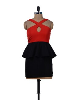 Sexy Peplum Dress - Sanchey