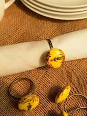 Savior Napkin Ring (Set Of 4) - Color Palette